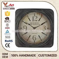 Superior Quality Price Cutting Handmade Wall Clock Different Shape