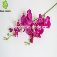 artificial orchid flower ,artificial phalaenopsis