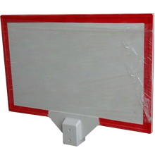 Stand wear and tear GRP FRP warning board for oil pipeline