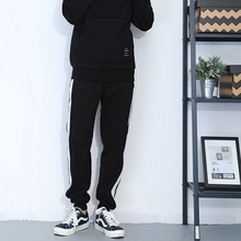 Spring and summer new sports casual pants side tide male sweat breathable feet pants