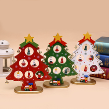 Christmas gifts Christmas tree Manufacturer sales Wooden Christmas tree ornaments