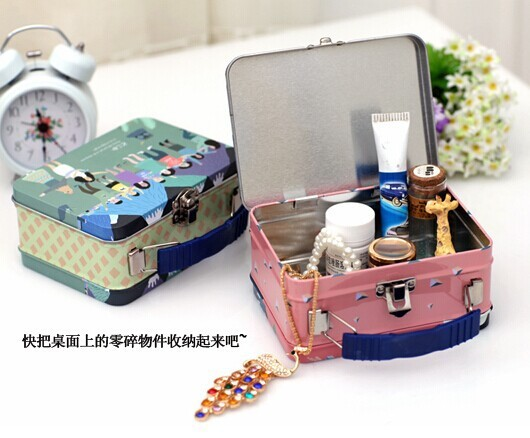 Fashion desige tin metal lunch box