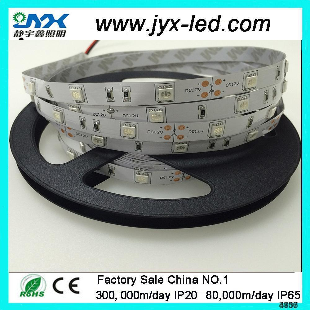 SMD 5050 60leds/m Four Colors LED String Light, RGBW Colorful Flexible Light Strip ip20 non-waterproof