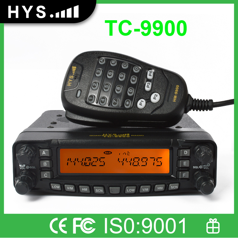Quad Bands HF Ham Radio Transceiver for Sale TC-9900