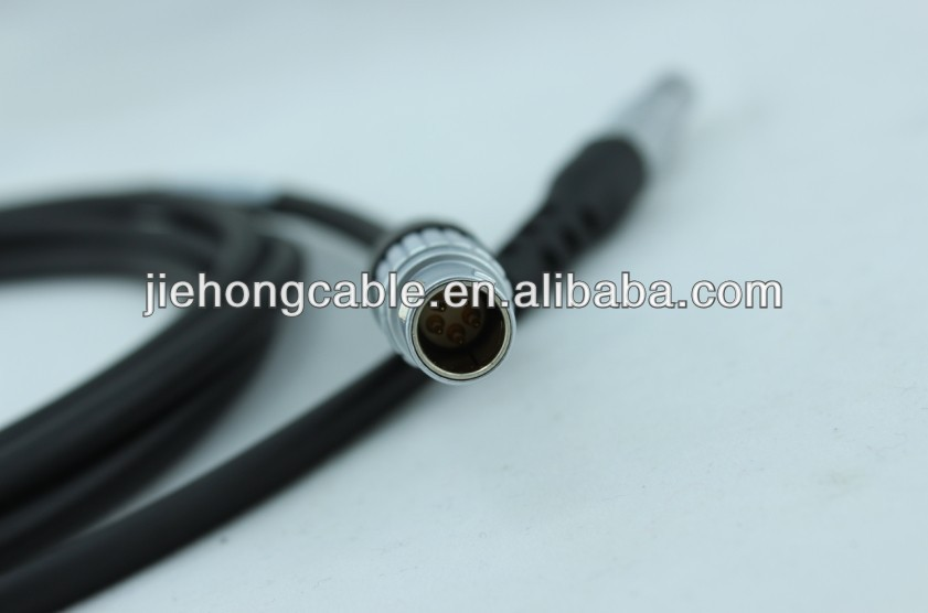GEV97 560130 GPS Battery Cable connects GEB171 external battery or GEV208 power supply to GX1200 GPS receiver.