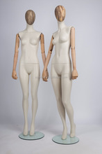fibergalss upper body woman mannequin for store display or dress maker