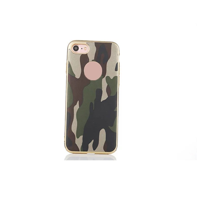 Soft TPU Case Army Camouflage Braided Lines Style Phone Case for iPhone 7 7 Plus Phone Accessories