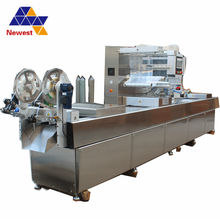 Food vacuum packaging machine/Top Notes Vacuum Packing Machine/ Continuous Drawing Vacuum Packaging machine