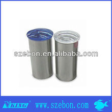RED AIRTIGHT CERAMIC CANISTERS WITH PLASTIC SCREW TOPS