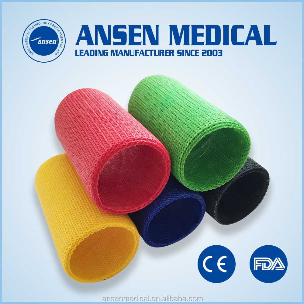 Orthopaedic Synthetic Casting Tape Lightweight High Strength Fiberglass Fracture Fix Bandage