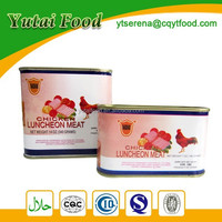 Canned Chicken Luncheon Meat Well Cooked Chicken Meat 340g 198g