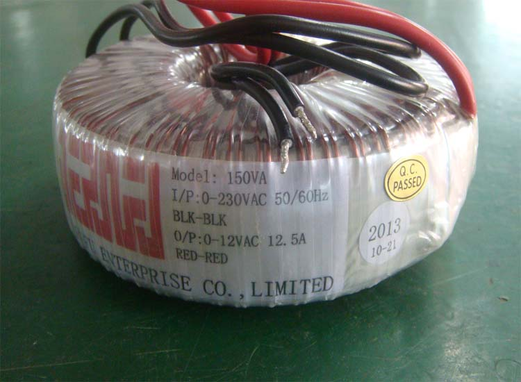 Power Usage And Toroidal Coil Structure Ac Step Down Transformer For Light/Solar Power