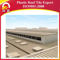 heat insulation roofing material upvc teja/pvc roof shingle/plastic upvc roofing tile