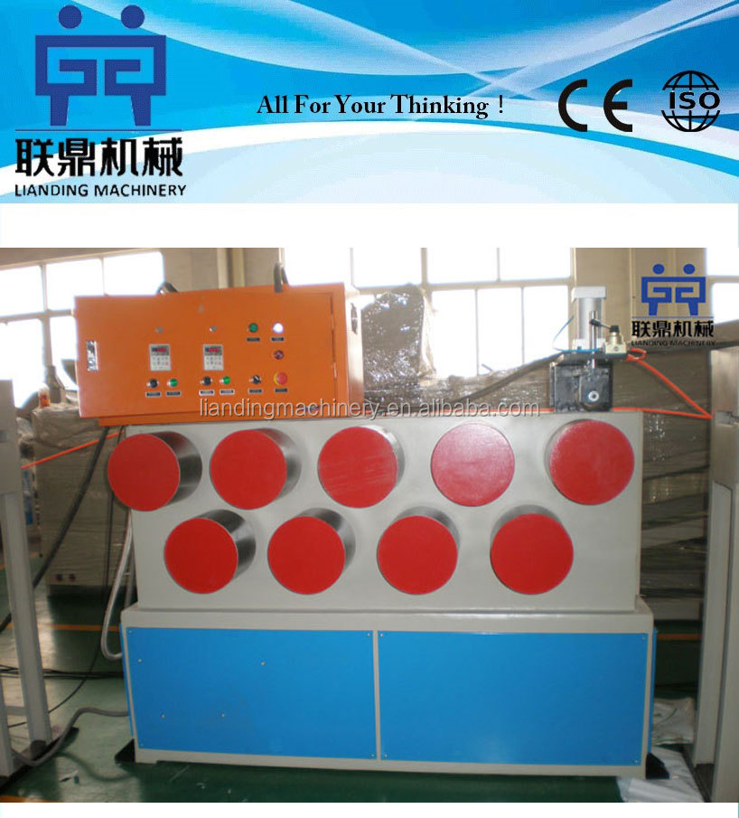 used pet strapping band production line/PET packing strap making machine