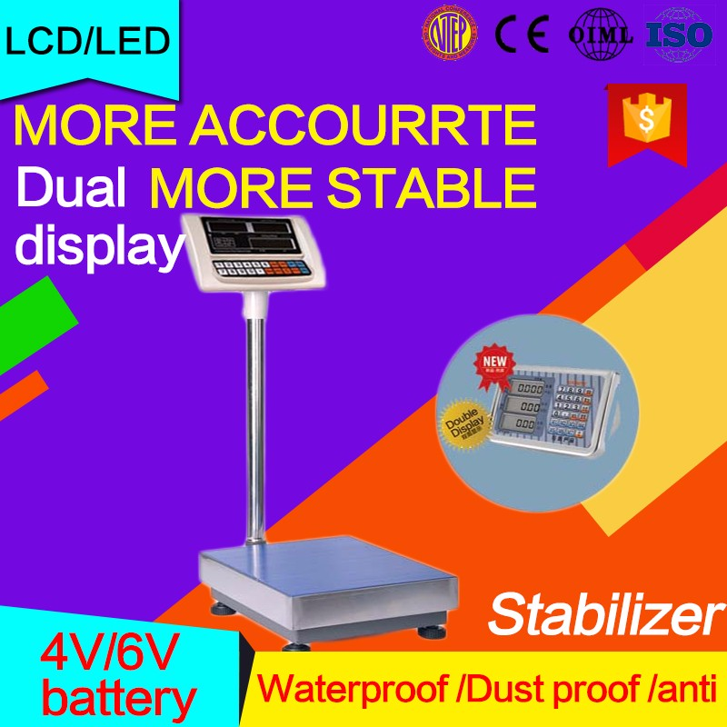 Electronic platform scale 1000kg load weight sensor