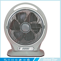 14 inch large box fan with handle