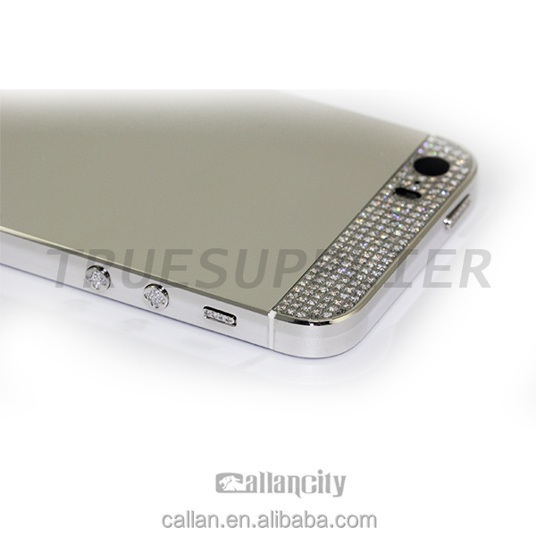 limited edition mobile phone case grey housing back for iphone 5s