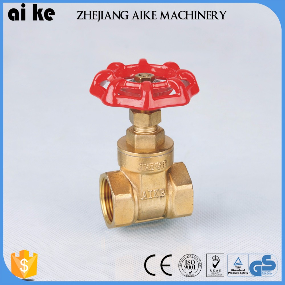 wholesale brass plate 1/2 inch 12 inch gate valve