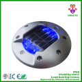 High Brightness Aluminum Solar Embeded Road Stud
