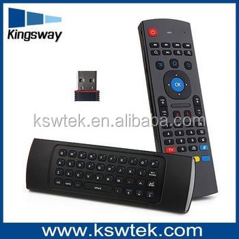 MX3 2.4G Wireless Keyboard+IR master tv remote <strong>control</strong> for smart tv box