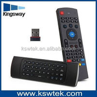 MX3 2.4G Wireless Keyboard+IR master tv remote control for smart tv box