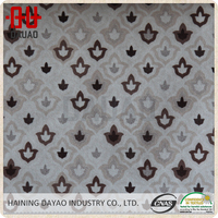 Fashional type textile with flower buds pattern for sofa fabric