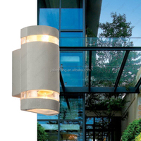 aluminum up down outdoor hotel modern wall Led lights