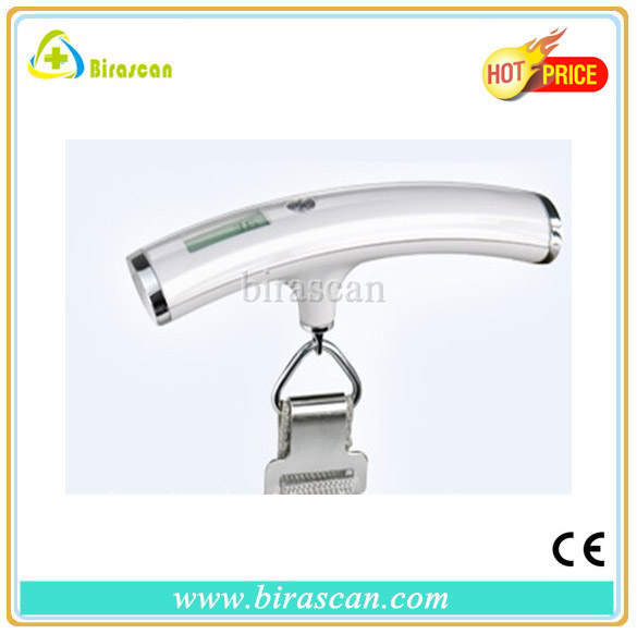 2014 new design Curved digital Luggage Scales with Stainless steel clasp