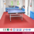 National Patent Red PVC Vinyl Sports Flooring for Table Tennis Court