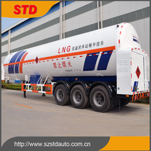 China cheap LNG liquid natural gas tanker truck trailer