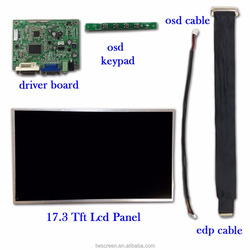17.3 inch Lcd Panel with Display Kits
