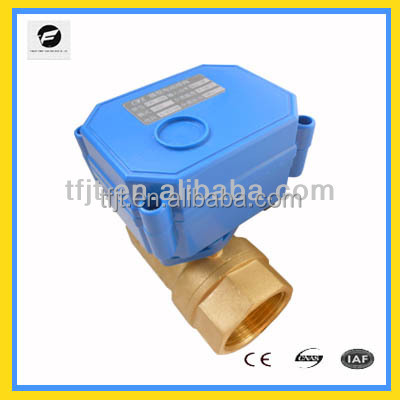 "2-way 2"" electric valve ac dc9-24V valve low voltage forIrrigation equipment,drinking water equipment,solar water heaters"