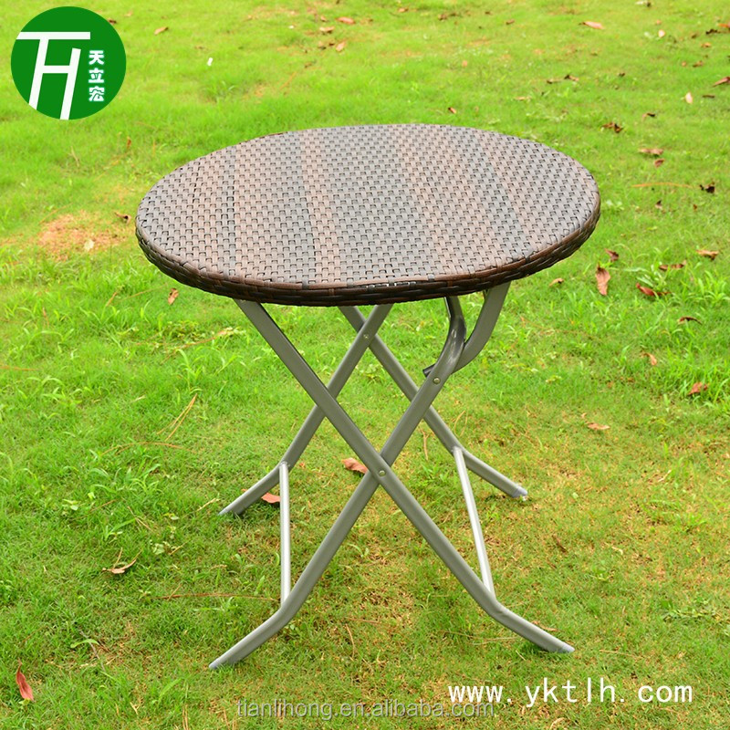 Rattan Table Folding Coffee Table