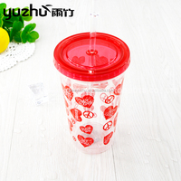 Good Reputation High Quality Reusable Plastic Bubble Tea Cup