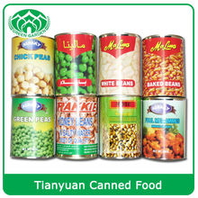 High Quality Canned Food Beans and Fruits