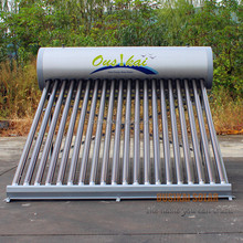 Anti-corrosion vacuum tube water solar heater with low pressure