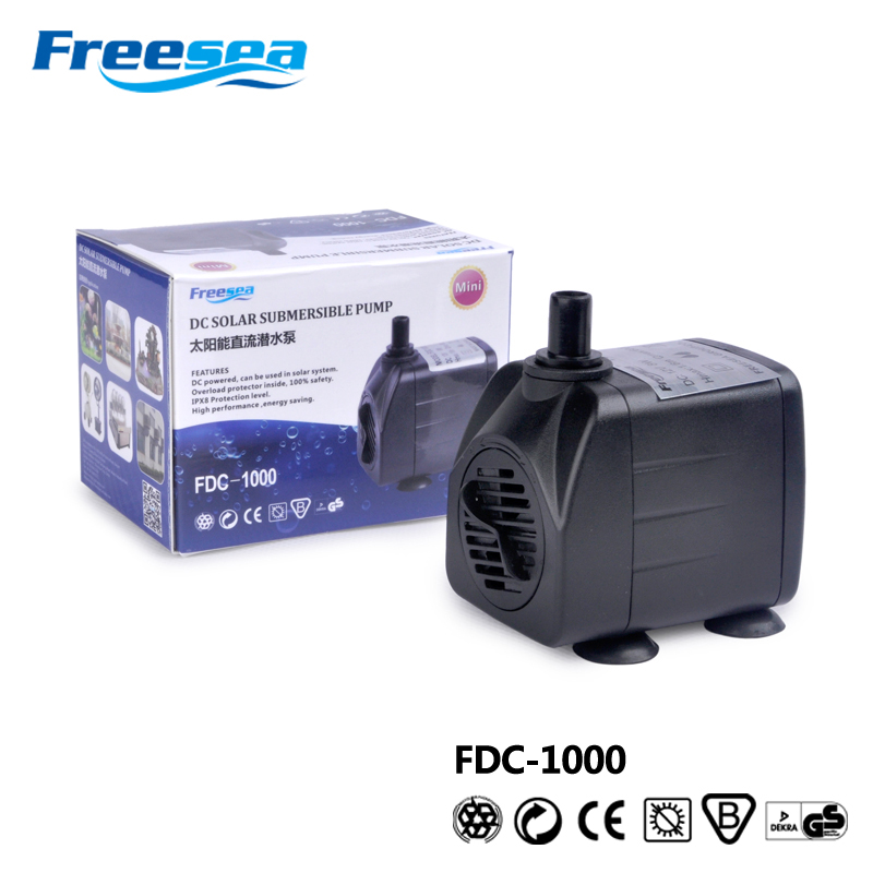 Multi-function dc small diameter submersible pump