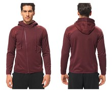 Wholesale Polyester Custom Men Subimation Atheltic Sport Slim Hoodie Sweater Apparel