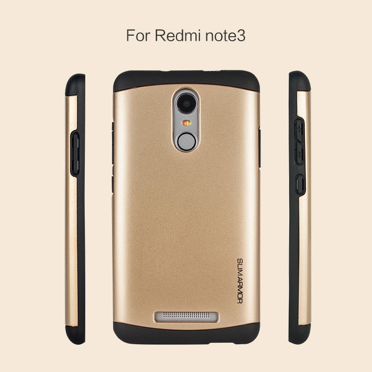 China Factory Wholesale High quality TPU+PC Hybrid Armor cell phone case for Redmi note 3