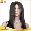 Human hair lace front wig, brazilian hair 7A grade hot sale silk straight wave small cap human front lace wig