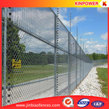 Anti Climb And Anti Cut 358 Security Fence with Electric Alarm System