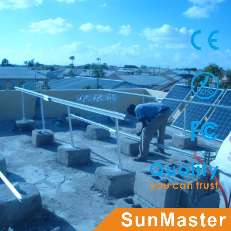 On grid 10KW solar panel cable connection system with 50m
