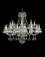 Glass lamps and lighting best-selling crystal chandelier parts