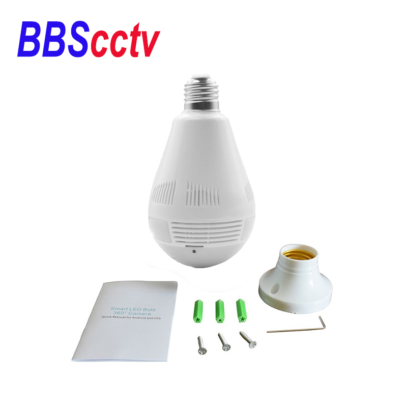 HD <strong>1080p</strong> home security icsee app wifi hidden 360 panoramic wireless LIGHT VR bulb camera