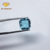 Lab created square loose blue topaz glass gemstone for jewelry making