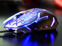 3200DPI Best Selling Wired USB Gaming Mouse With Optical Mouse 7D Color Changing Computer Mouse For Pro Gamer