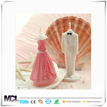 2017 new Amazon elegant wedding favor party table decor guest souvenirs return gifts bridal shower favor door gift bride candle