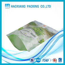 100% Natural material plastic green fruit/vegetable packaging bag