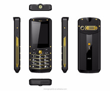 IP68 rugged waterproof dual sim mobile 2.4inch gsm 2g function phone agm m2 rugged phone very slim feature phone with gold&red