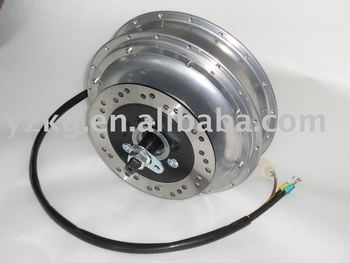 4-7KW Brushless motor